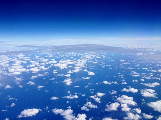 大気中のオゾン