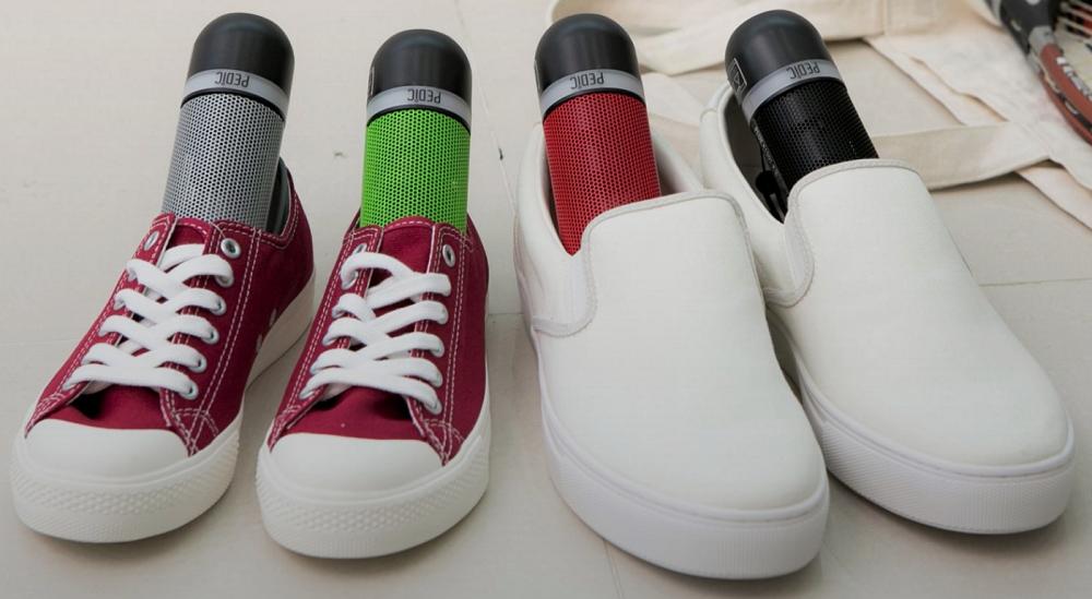 ペディックで靴を消臭する仕組み