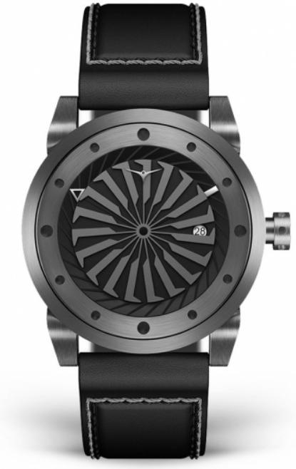 zinvo gunmetalの時計
